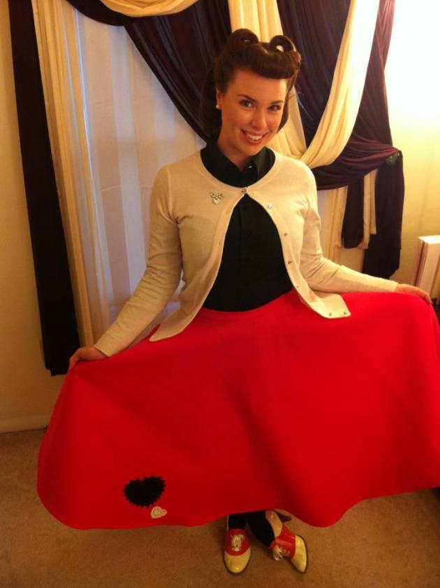 vday skirt